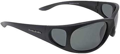 Gafas de sol polarizadas Stalker, color gris Kat-3, lentes UV400 y cristales laterales