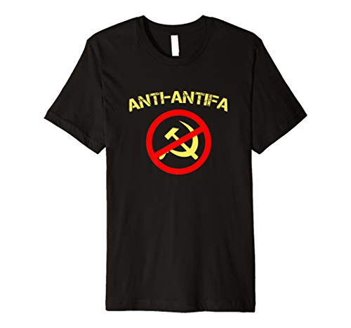Anti-Communist, Anti-Antifa Shirt