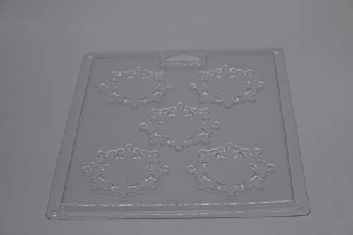 Misterchef® Reutilizable Chocolate molde copo nieve
