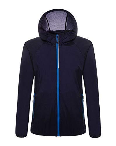 CWEAR, Outdoor-Sonnenschutzbekleidung, Herren-Laufjacke, UV-Schutzbekleidung für Herren, Leichte Kleidung, Anti-Stapel-Laufjacke