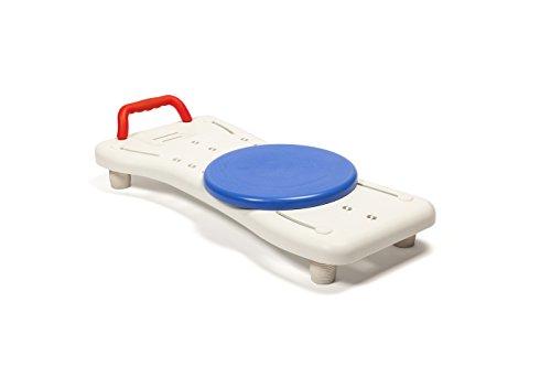 Tabla de bañera con asiento giratorio