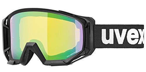 Uvex Unisex – Adulto Athletic Ciclismo Gafas Negro/Verde Talla Única