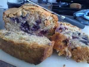 Zucchini Bread with Blueberries, Peach, and Banana Bread 3 Loaves Total.