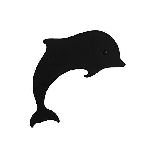 JAQ Led 3D Print Delphin Silhouette nachtlicht mit Motion Sensor aufgeladen Wandleuchte nachttischlampe für Schlafzimmer Wohnzimmer Dekoration licht Geschenk