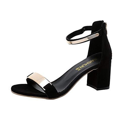 Sandalias Mujer Verano Planas con Plataforma Tacon Cuña Plata Talla Niña Playa Plataformas Fiesta Baratos Tacones Altos Sexy 6 Cm Zapatos POLP