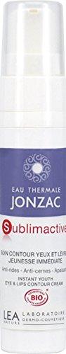 Eau Thermale Jonzac Soin Contour Yeux et Lèvres Jeunesse Immédiate Tube 15 ml - cosmetique BIO