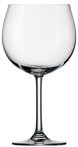 Stölzle Lausitz Burgunder Rotweinglas Weinland 650ml, 6er Set Weinglas, hochwertige Qualität, spülmaschinenfeste Burgundergläser, bauchige Rotweinballons