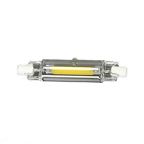 GW Tubo De Vidrio LED Regulable R7S, Luz De Proyecto Insertada Horizontalmente, 78 Mm / 118 Mm, 220 V, Puede Reemplazar La Lámpara De Tungsteno De YODO,Blanco,78mm 20W