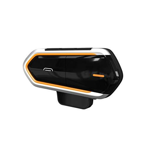 Julo Intercomunicador de Motocicleta Casco Auriculares Inalámbrico Bluetooth Interfono Manos Libres Auriculares Impermeables Auriculares con micrófono