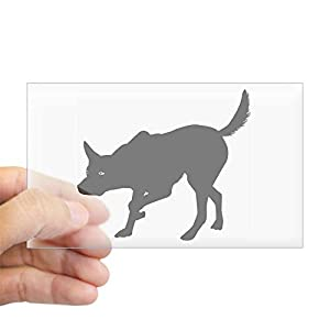 CafePress Australian Kelpie Rectangle Sticker Bumper Sticker 2