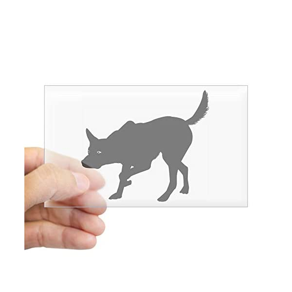 CafePress Australian Kelpie Rectangle Sticker Bumper Sticker 1