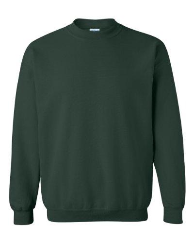 Gildan Men's Heavy Blend Crewneck Sweatshirt - Small - Forest Green