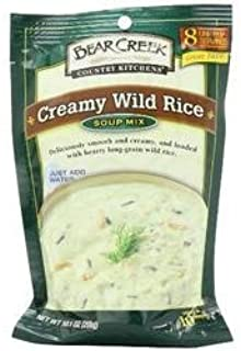 Bear Creek Country Kitchens Creamy Wild Rice Soup Mix, 10.1 Oz Bags (Pack of 2)