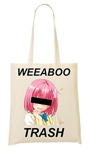 BakoIsland Weeaboo Trash Anime Girl Tragetasche Einkaufstasche