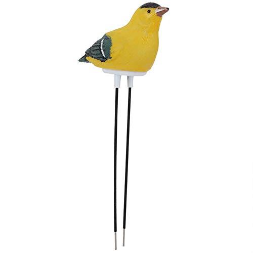 Mumusuki Vloervochttester plant bodemvochtigheidsmeter meter vochtsensor hygrometer voor tuin (batterij inbegrepen) geel