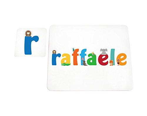 Multicolore Disegno Personalizzabile con Nome da Ragazzi Claudio Little Helper LHV-CLAUDIO-A6BLK-15IT Pannello Decorativo Neonato//Battesimo Idea Regalo 10.5 x 14.8 x 2 cm