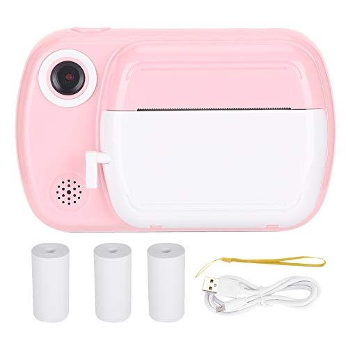 Cámara para niños con lente dual digital 1080P, videocámara de video con pantalla HD de 3.5 pulgadas Cámaras de impresión térmica para niños pequeños El mejor regalo de cumpleaños