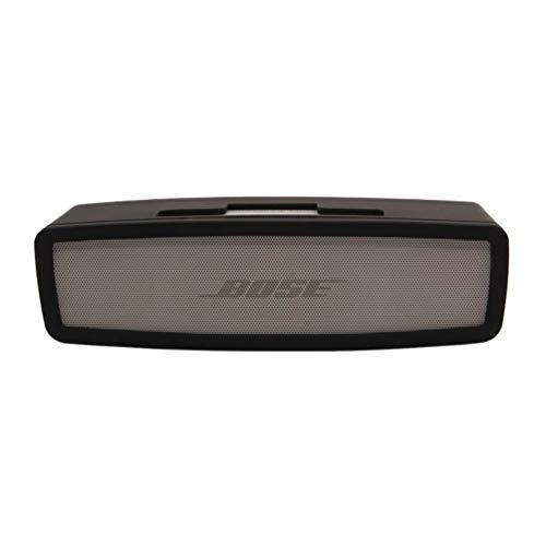 SOONSOP Schutzhülle für Bose Soundlink Mini 1/2 Hülle, Soft Shockproof Tragbarer Schutz Tasche Protective Cover Bluetooth Lautsprecher Sound Silikonhülle in Schwarz