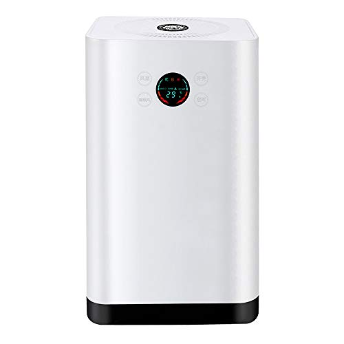 WYKDL Air Purifier Smoke Air Purifiers for Home with Fragrance Sponge Free Lock Set Eliminates Smoke Dust Pollen Pet Dander Anion Air Purifier with True and Active Carbon Filter