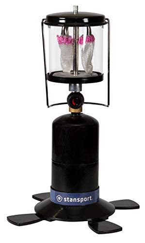 Stansport 2 Mantle Propane Lantern, Black