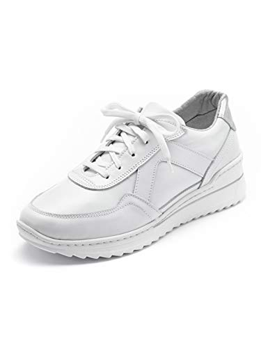 Avena Damen Bequem-Sneaker Wohlfühlweite Weiß Gr. 39