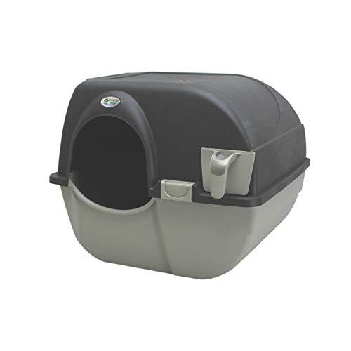 Omega Paw Roll n\' Clean Katzentoilette Katzenklo selbstreinigend Regular, Farbe:Schwarz