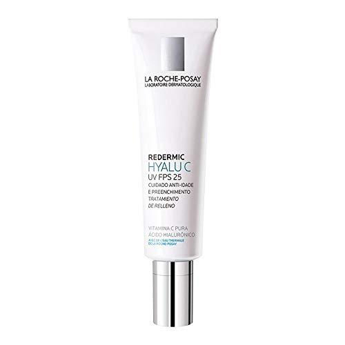 Redermic Hyalu C Uv Creme Antirrugas Facial Pele Sensível La Roche-Posay Fps 25 40mL