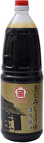 吉村醸造 サクラカネヨ さしみ 醤油 1.8L ×2本