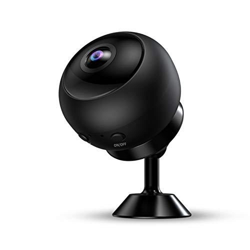 ZSGG WiFi Cámara Espía Oculta Mini Cámara Espía Inalámbrica HD 1080P Cámara de Seguridad para El Hogar Pequeña Cámara Niñera Portátil con Detección de Movimiento por Visión Nocturna