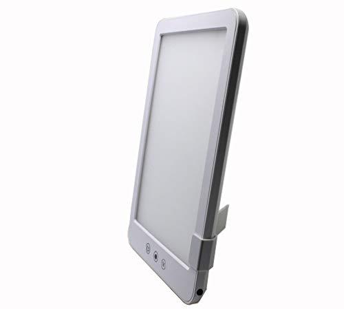 TRISTE Lichttherapie-tafellamp, LED, lichtbehandeling zonder lichtschakelaar, 230x160x20mm, Wit
