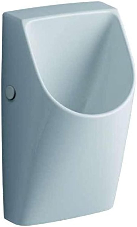 Keramag Urinal Renova Nr. 1 Plan wasserlos KeraTect wei(alpin), 235170600
