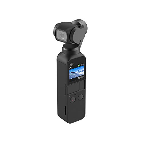 DJI Osmo Pocket - Cámara portátil con estabilizador en Tres Ejes, Resolución de vídeo 4K, 12 MP - Ideal para...