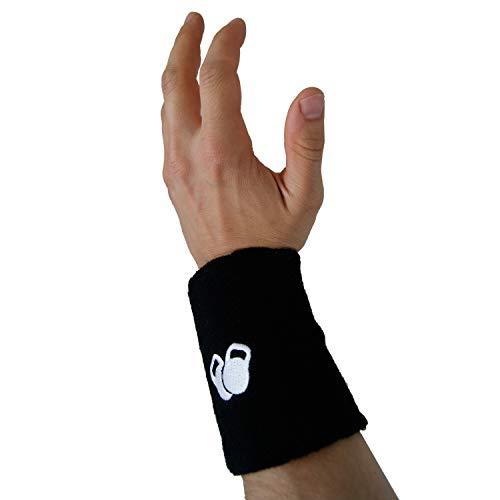 PROTONE Kettlebell pols- en armbeschermers – een paar met slank design en beschermend inzetstuk ter bescherming
