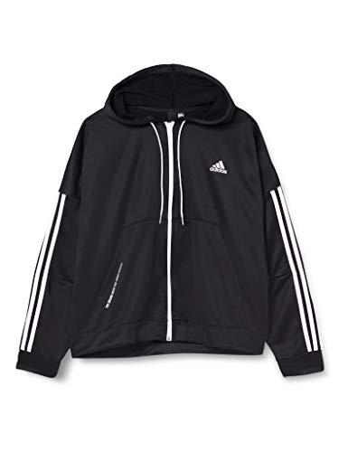 adidas W TS Gati A.Rdy, Tuta Sportiva Donna, Nero, XL