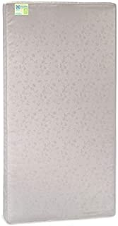 "Sealy Baby Select 2-Cool 2-Stage Dual Firmness Lightweight Waterproof Standard Toddler & Baby Crib Mattress – Soybean Foam-Core, 51.63"" x 27.25"", Cool Kid"