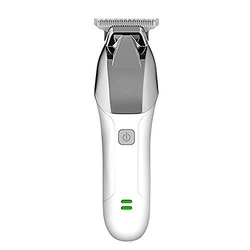 Kemei Cortapelos profesionales para hombres profesionales, cortadoras de pelo mojado seco, cortadora de pelo recargable para uso doméstico y barberos