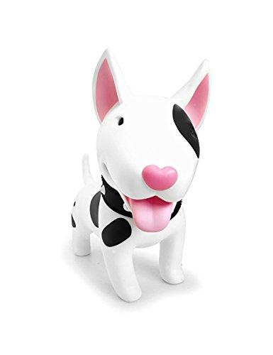 DomeStar Cute Dog Bank, Bull Terrier Coin Bank Kids Toy Bank Doggy Puppy Piggy Bank for Girls Boys