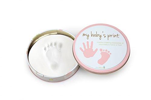 Tiny Ideas Easy to Use Handprint Tin, Pink