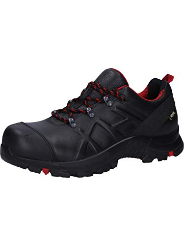 Haix Black Eagle Safety 54 mid Robuste Workwear Sicherheitsschuhe aus besonders dickem Leder. 44