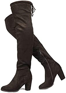 Symbol Of The Brand Lucille Womens Stiletto Heels Zip Up Ladies Sexy Thigh High Boots Shoes New Size Last Style Panties Clothing, Shoes & Accessories