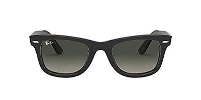 Ray-Ban RB2140 Original Wayfarer Sunglasses, Tortoise on Grey/Grey Gradient, 50 mm