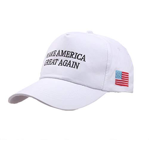 SUPYINI Presidente Donald Trump Ajustable Make America Make America Great Again Hat Cap Gorra de béisbol de Malla Republicana