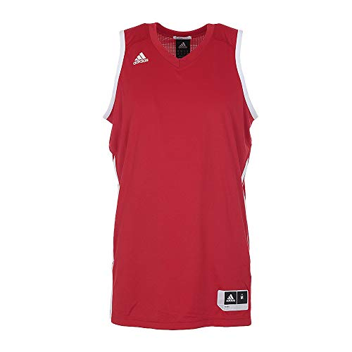 adidas Performance O22436_M Camiseta, Red, M de los Hombres