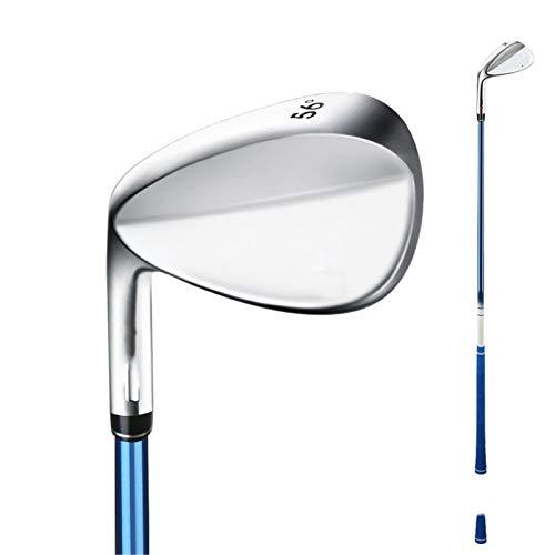 inChengGouFouX Außergewöhnliche Darbietung Golfausrüstung Edelstahl rechter Hand Golf Keil langlebig Praktische Golfschläger (Farbe : Silver, Size : One Size)