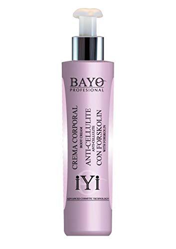 Crema anticelulítica con Forskolin Bayo Profesional 200 ml