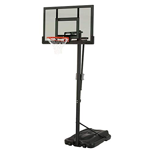 Lifetime Adjustable Portable Basketball Hoop (52-Inch Tinted...