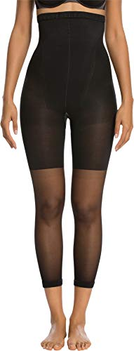 SPANX Higher Power Capri Super High Footless Shaper Black B