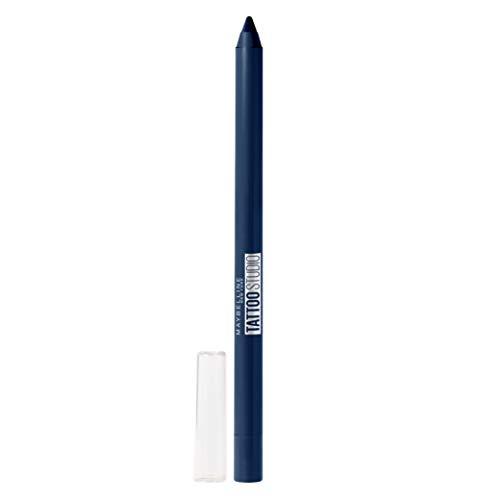 Maybelline TattooStudio Waterproof, Long Wearing, Eyeliner Pencil Makeup, Striking Navy, 0.04 Ounce