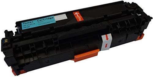 Bubprint Toner kompatibel für HP CC531A 304A für Color Laserjet CM2320FXI CM2320NF CM2320N MFP CP2000 CP2020 CP2025 CP2025N CP2025DN 2800 Seiten Cyan