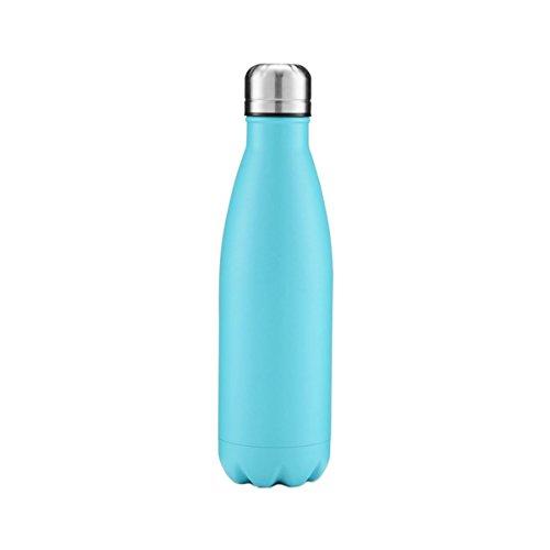 FunnyGuys Botella de agua con aislamiento al vacío, de acero inoxidable, de doble pared, grabada, personalizada, 500 ml, para niños, dama de honor, amiga y profesor